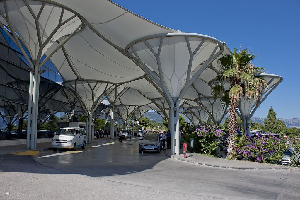 Aéroport de Split taxi transport prix